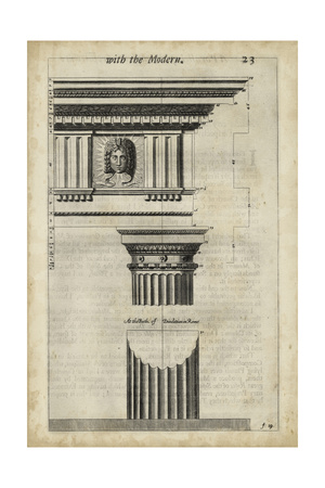 Ancient Architecture I Prints by John Evelyn