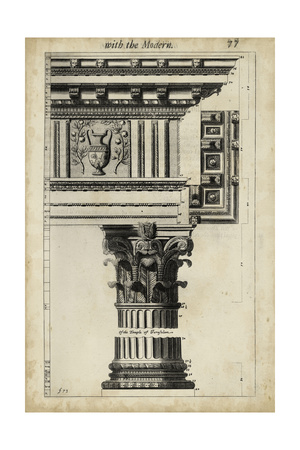 Ancient Architecture VII Prints by John Evelyn