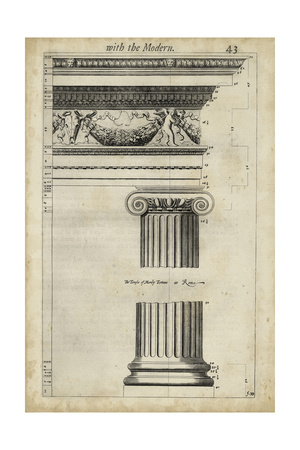 Ancient Architecture III Posters by John Evelyn