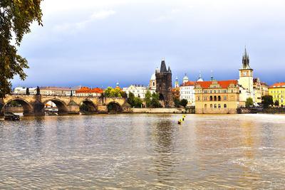 Charles Bridge in Prague, Czech Republic Photographic Print by  vesta48