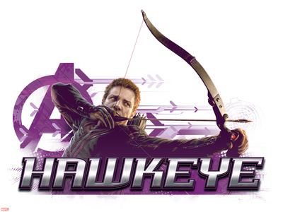 The Avengers: Age of Ultron - Hawkeye Plastic Sign
