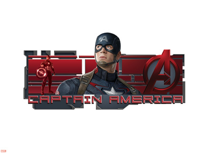 The Avengers: Age of Ultron - Captain America Plastic Sign