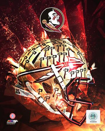 Florida State University Seminoles Helmet Composite Photo