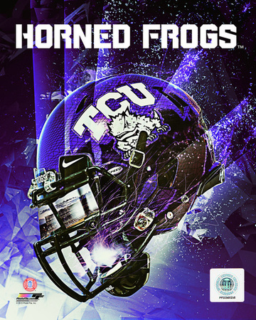 TCU Horned Frogs Helmet Composite Photo