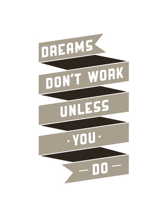 Dreams Don't Work Giclee Print