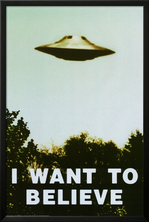 The X-Files - I Want To Believe Print Photo