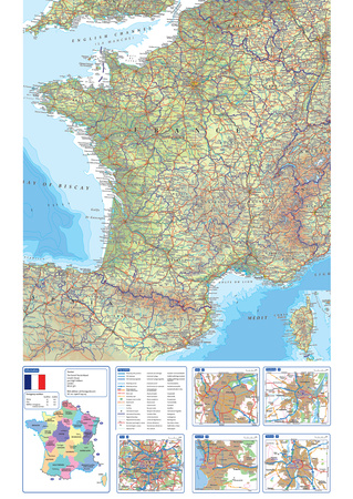 France Map Posters