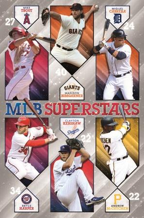 MLB - Superstars 15 Posters
