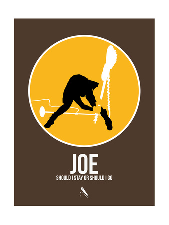 Joe Print by David Brodsky