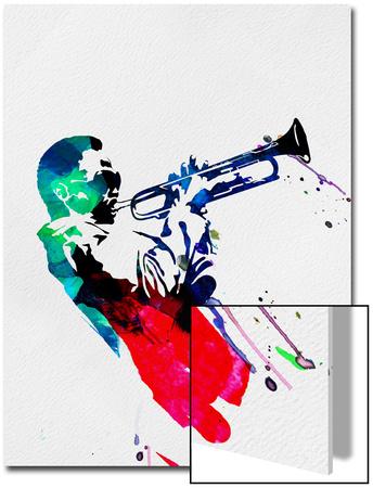 Miles Watercolor UMĚNÍ NA AKRYLU