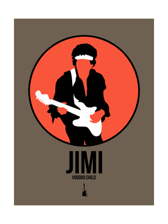 Jimi Prints by David Brodsky