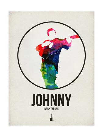 Johnny Watercolor Prints by David Brodsky
