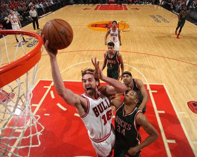 Milwaukee Bucks v Chicago Bulls - Game Two Photo by Gary Dineen