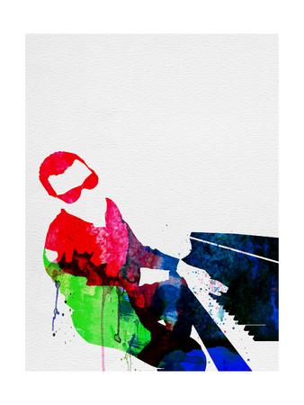 Ray Watercolor Posters av Lora Feldman