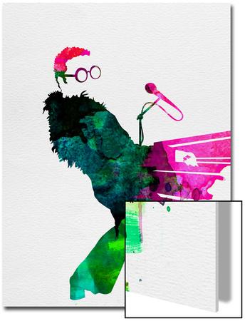 Elton Watercolor Prints by Lora Feldman