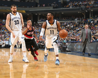 Portland Trail Blazers v Memphis Grizzlies - Game Two Photo by Joe Murphy