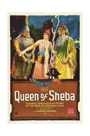 The Queen of Sheba, 1921 Giclee Print