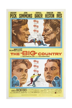 The Big Country, 1958 Giclée-tryk