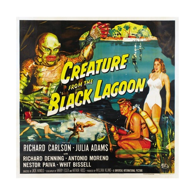Creature from the Black Lagoon, 1954 Giclee Print