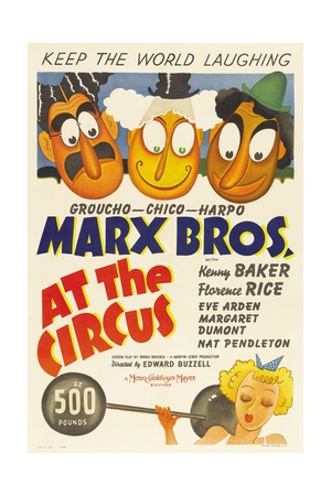 At the Circus, 1939 Giclee Print