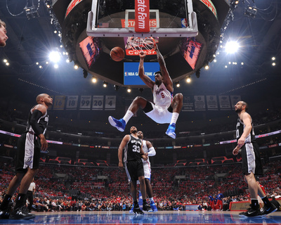 San Antonio Spurs v Los Angeles Clippers - Game Two Photo by Andrew D Bernstein