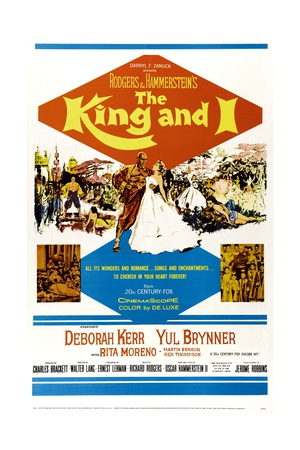 The King and I, 1956 Giclee Print