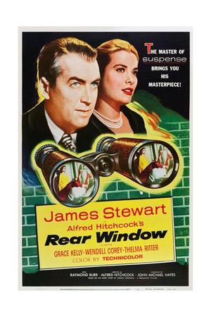 Rear Window, 1954 Giclee Print