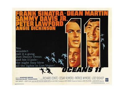 Ocean's Eleven, 1960 Giclee Print