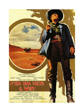 Once Upon a Time in the West, 1968 (C'Era Una Volta Il West) Giclee Print