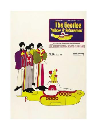 Yellow Submarine, 1968 Giclee Print