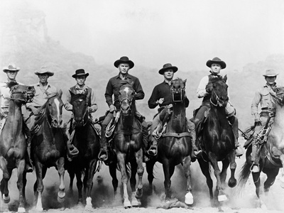 The Magnificent Seven, 1960 Photographic Print