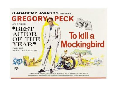 To Kill a Mockingbird 1962 Giclée-tryk