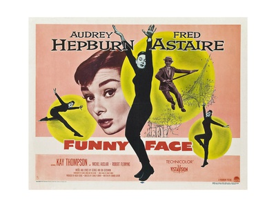 Funny Face, 1957 Giclee Print