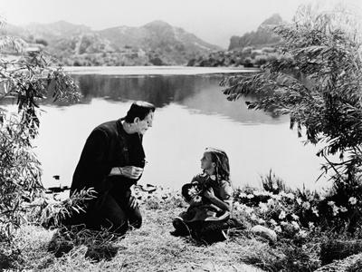 Frankenstein: Frankenstein, 1931 Fotografisk tryk
