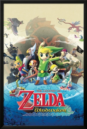 Zelda - Windwaker Prints