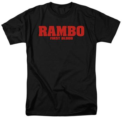 Rambo First Blood - Logo Shirt