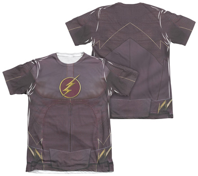 The Flash - Flash Uniform (Front - Back Print) T-shirts