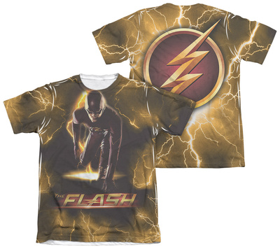 The Flash - Bolt (Front - Back Print) T-Shirt