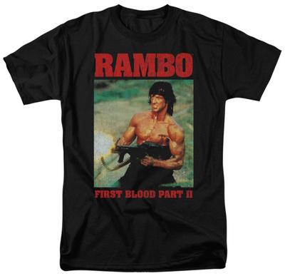 Rambo First Blood II - Dropping Shells T-shirts