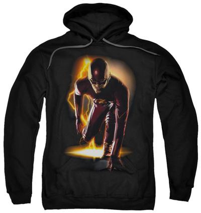 Hoodie: The Flash - Ready Pullover Hoodie