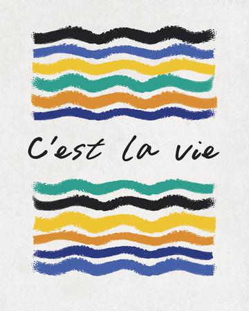 C'est la Vie Posters by Sasha Blake