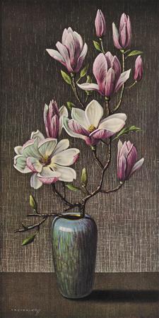 Pink Magnolia Giclee Print by Vladimir Tretchikoff