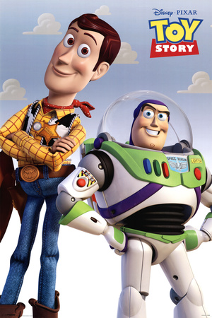 Toy Story (Woody & Buzz) Poster