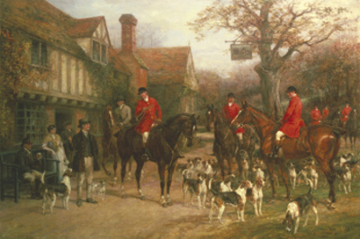 The Meet Giclee Print by Heywood Hardy