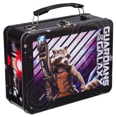 Marvel Guardians of the Galaxy Large Tin Lunch Box Lunch Box