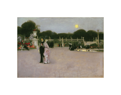 In the Luxembourg Gardens, 1879 Posters by John Singer Sargent