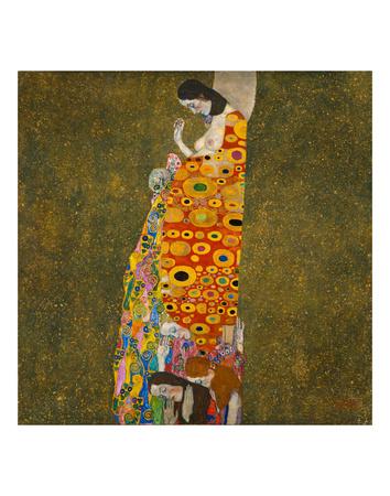 Hope II Prints by Gustav Klimt