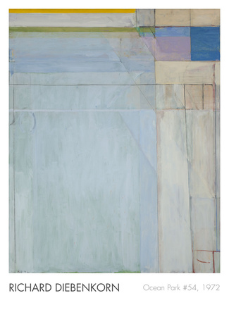 Ocean Park 54, 1972 Prints by Richard Diebenkorn