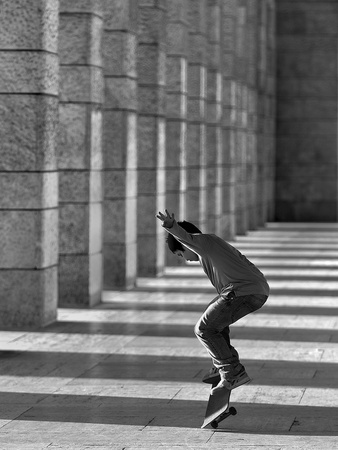 Street Dancer Photographic Print by Fulvio Pellegrini