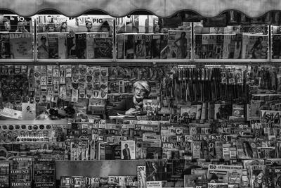 L'Edicola Photographic Print by Massimo Della
